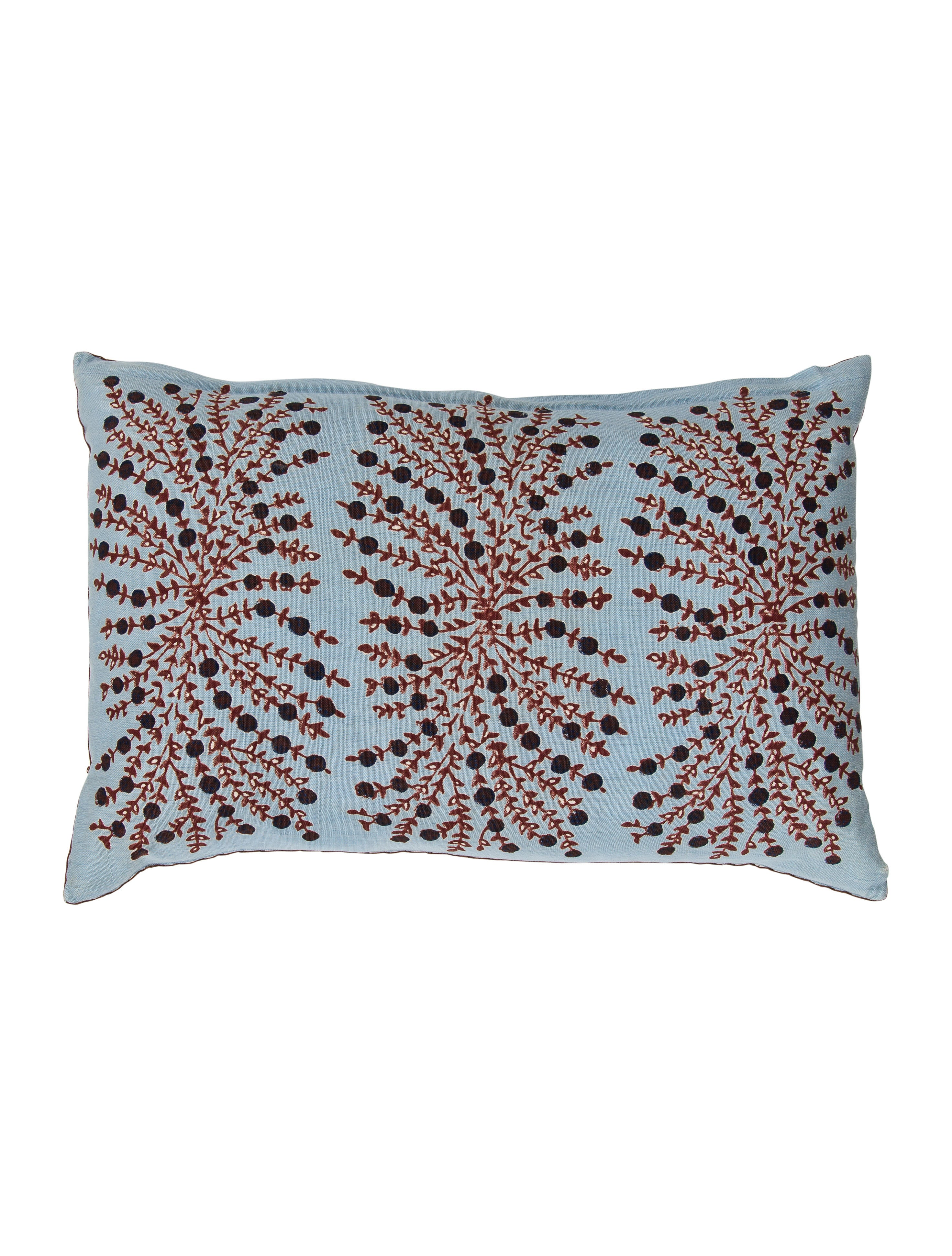 John robshaw decorative throw pillow bedding and bath jrobs20076 the realreal - Bedroom throw pillows ...