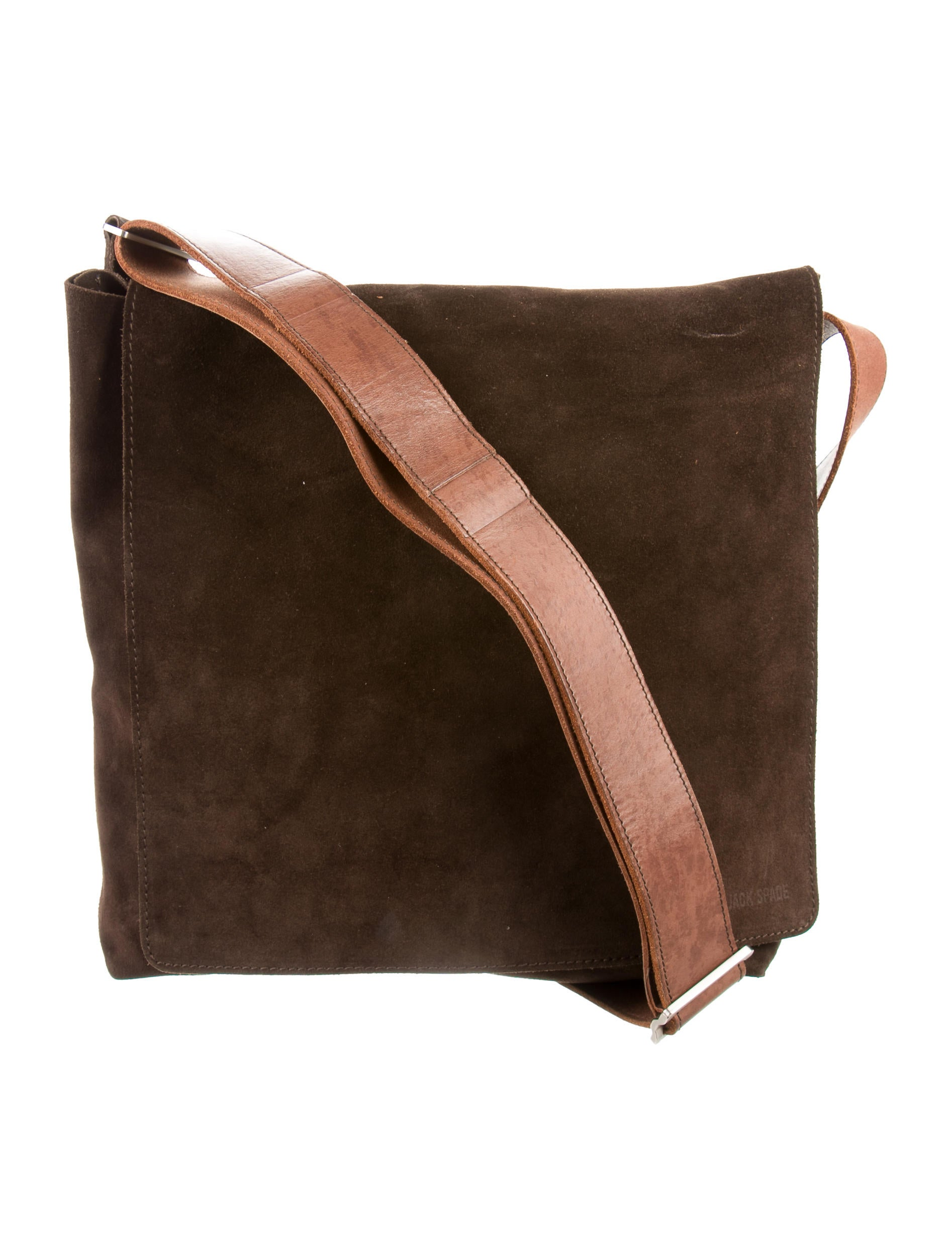 Jack Spade Suede Messenger Bag - Bags - JSP20708 | The RealReal