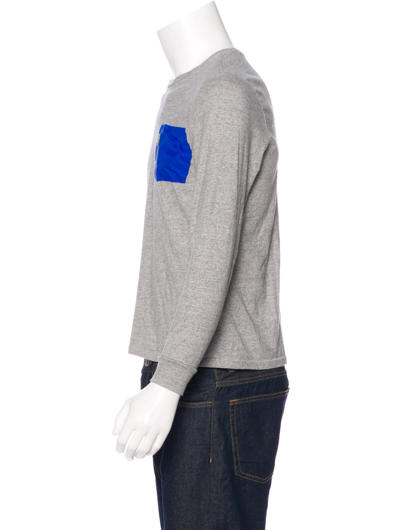 Jack spade long sleeve pocket t shirt clothing for Long sleeve pocket shirts