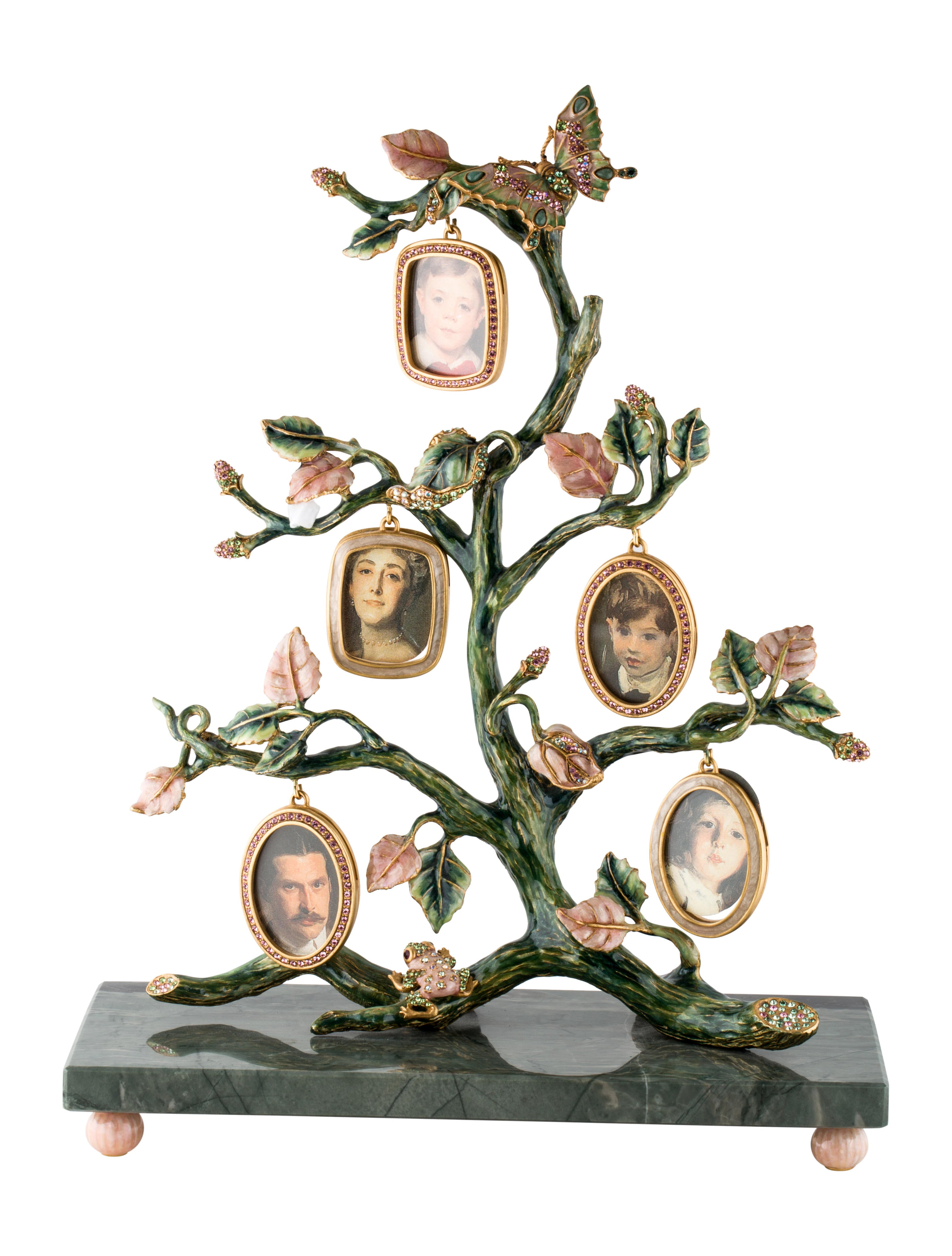 Jay Strongwater Family Tree Frame Decor Amp Accessories