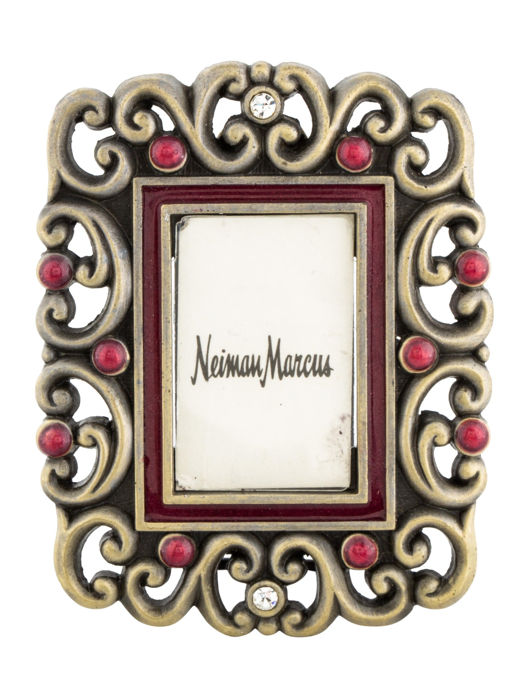 Jay Strongwater Embellished Picture Frame - Decor And Accessories ...