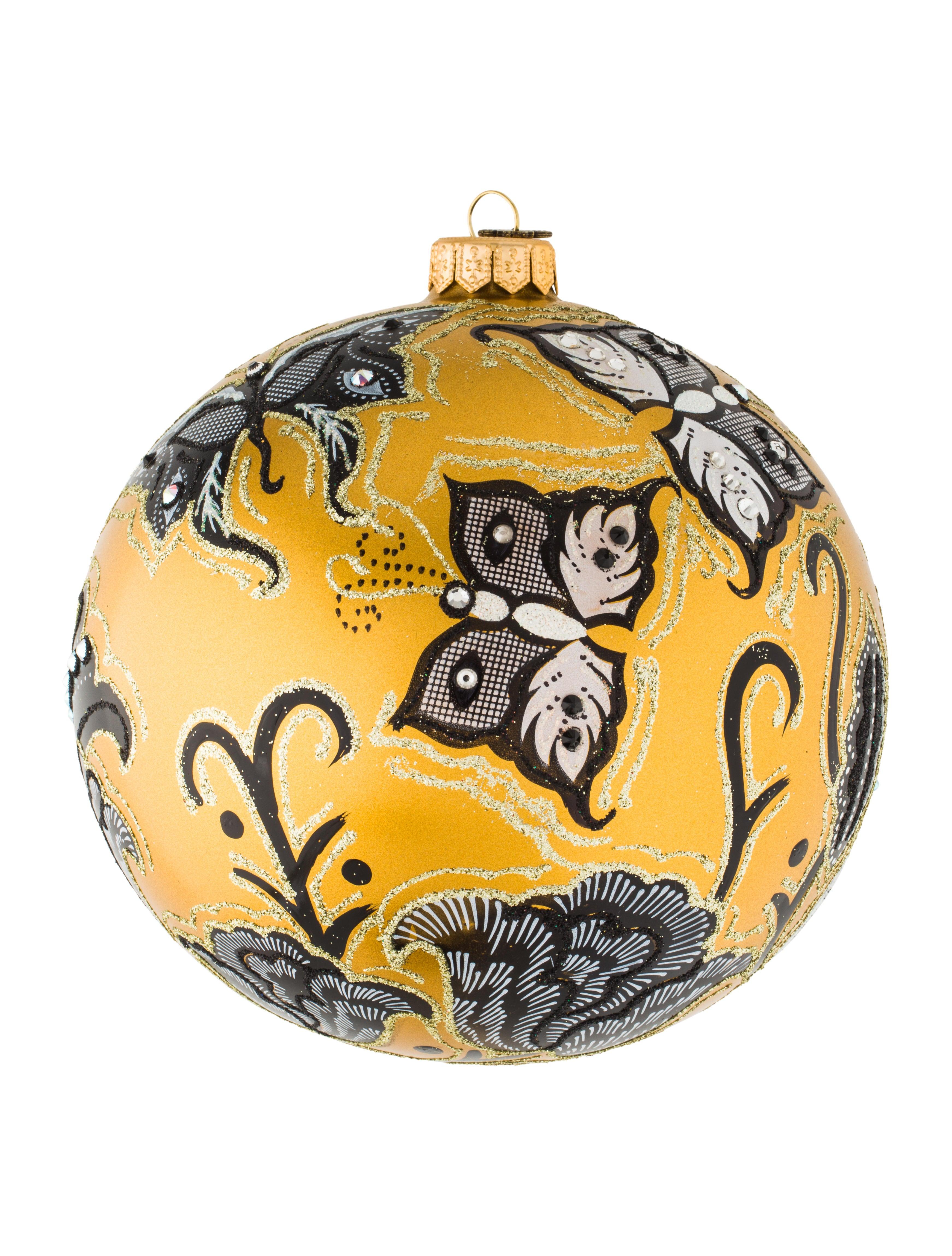 Butterfly Nouveau Ornament