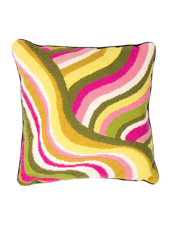 Jonathan Adler Needlepoint Throw Pillow - Pillows And Throws - JTADL20251 The RealReal
