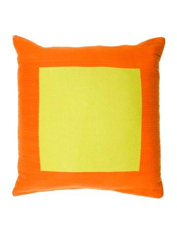 Jonathan Adler Reversible Wool Throw Pillow