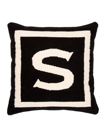 Jonathan Adler Letter Throw Pillow - Pillows And Throws - JTADL20455 The RealReal