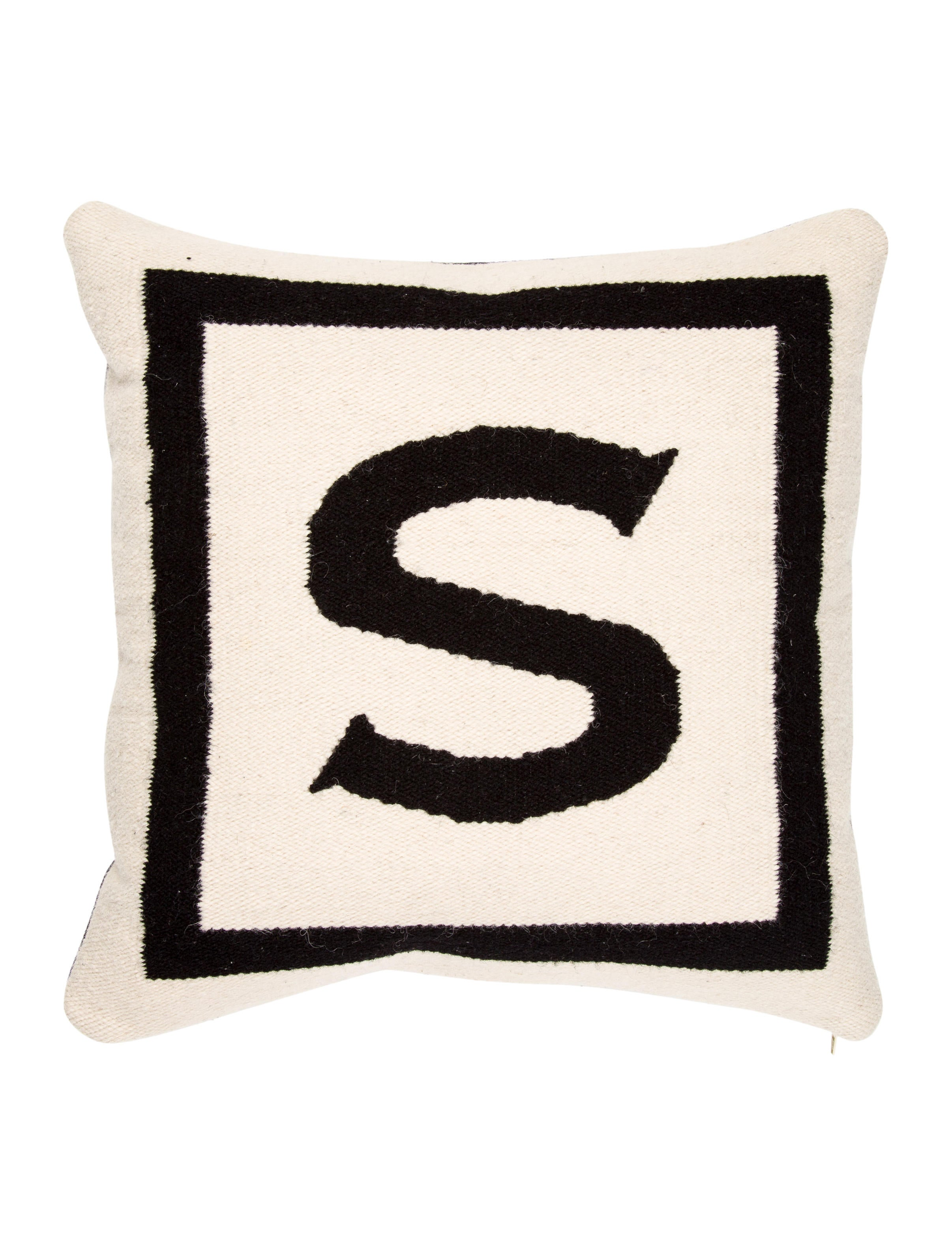 Throw Pillows With Letters : Jonathan Adler Letter Throw Pillow - Pillows And Throws - JTADL20455 The RealReal