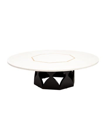 jonathan adler stone coffee table furniture jtadl20493 the realreal. Black Bedroom Furniture Sets. Home Design Ideas