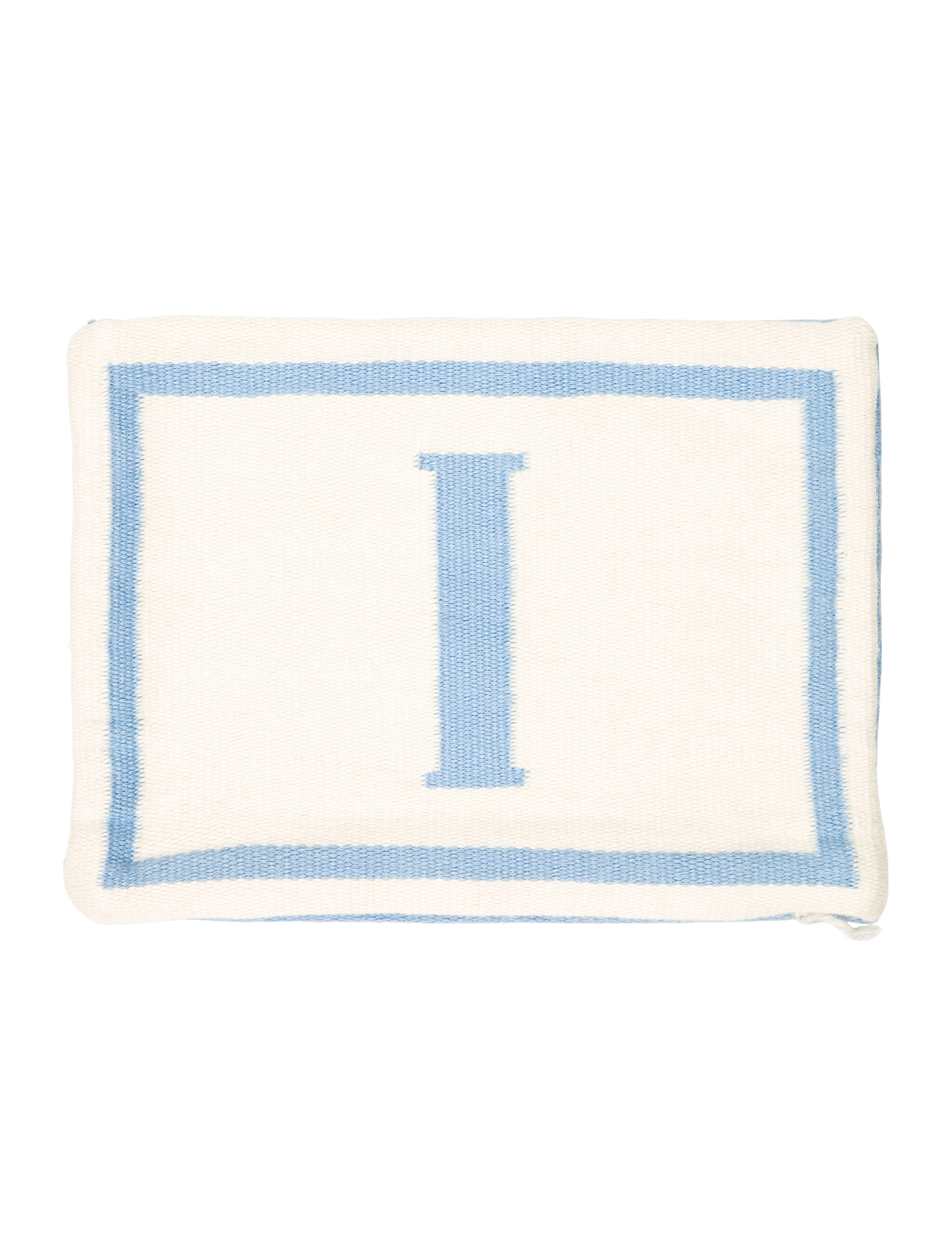 Letter L Throw Pillow : Jonathan Adler Reversible Junior Letter Throw Pillow Case w/ Tags - Bedding And Bath ...