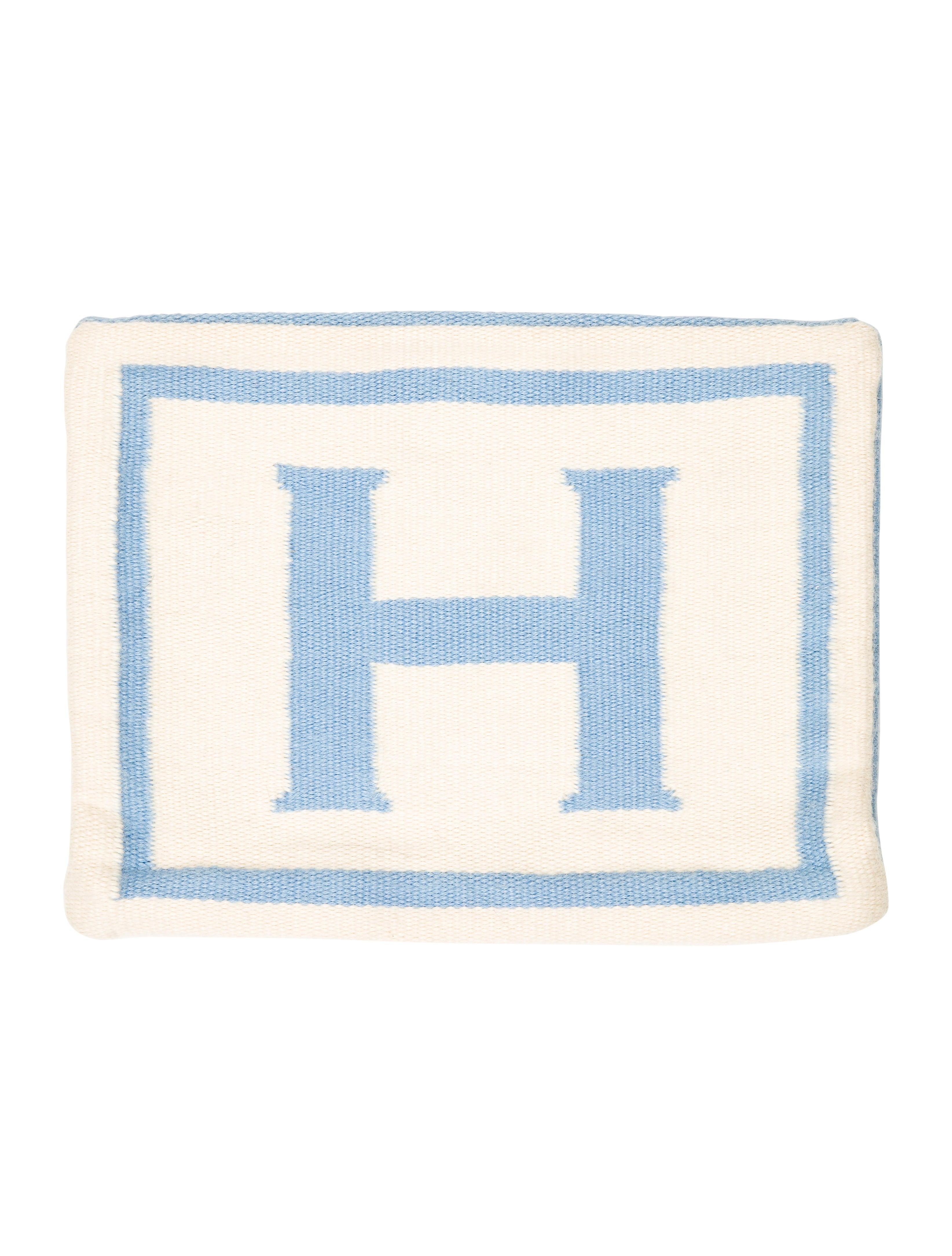 Letter L Throw Pillow : Jonathan Adler Reversible Junior Letter Throw Pillow Case - Bedding And Bath - JTADL20507 The ...