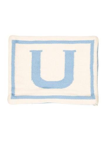 Letter L Throw Pillow : Jonathan Adler Reversible Junior Letter Throw Pillow Case - Bedding And Bath - JTADL20512 The ...