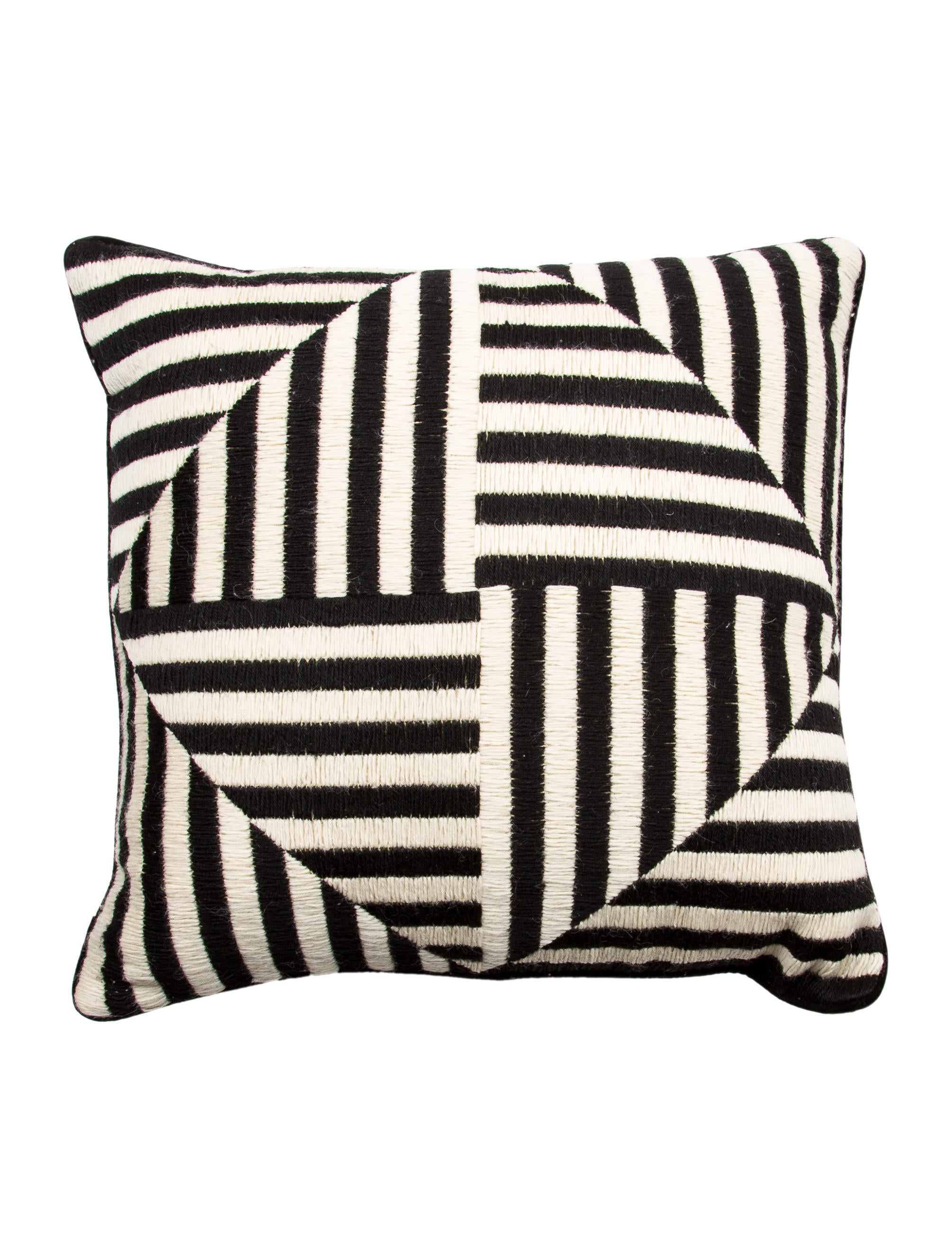 Throw Pillows Justice : Jonathan Adler Bargello Windmill Throw Pillow - Bedding And Bath - JTADL20525 The RealReal