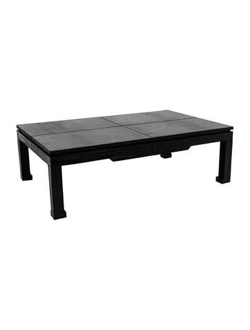 jonathan adler preston coffee table furniture jtadl20539 the realreal. Black Bedroom Furniture Sets. Home Design Ideas