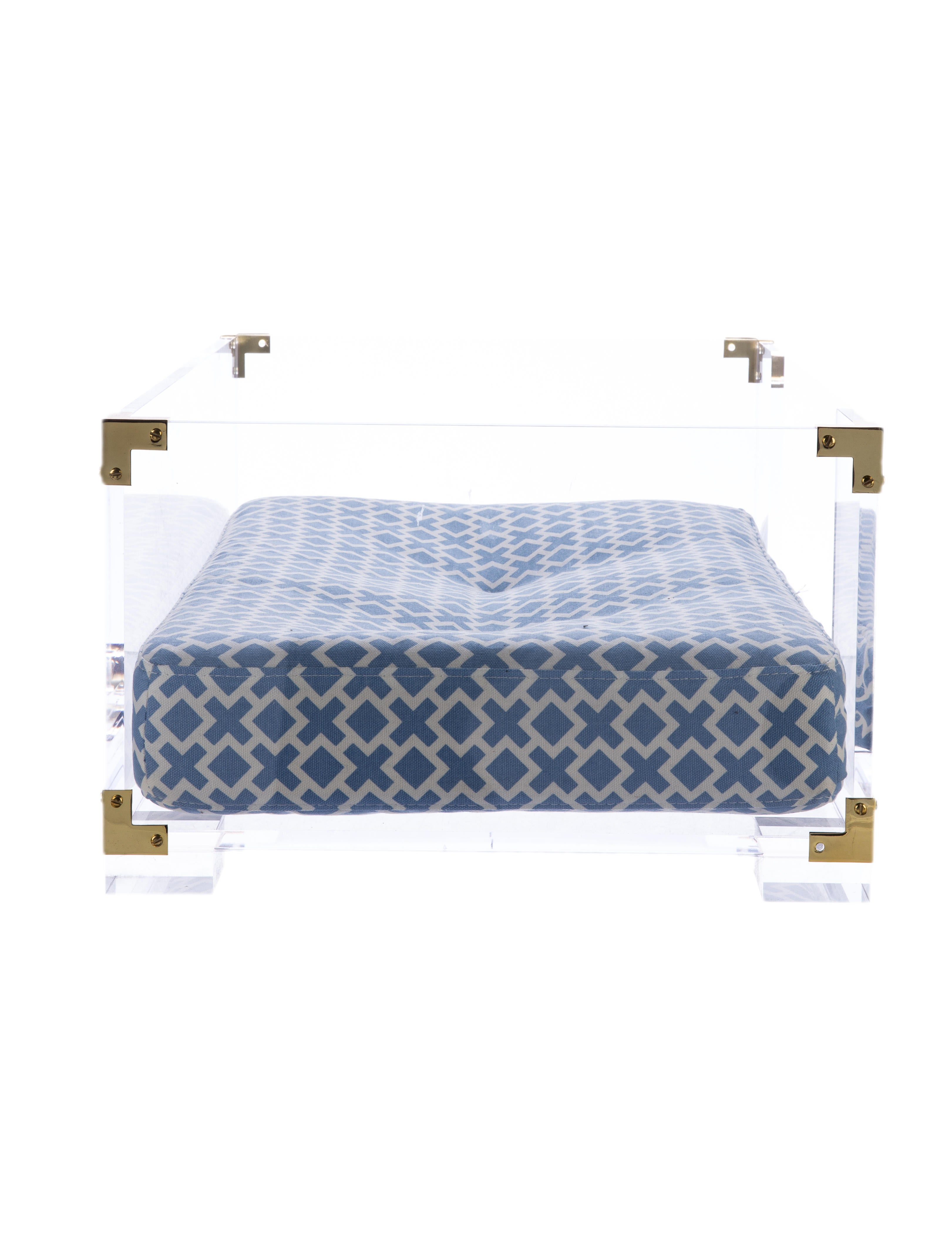 jonathan adler lucite dog bed decor and accessories