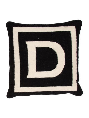 Jonathan Adler Letter Throw Pillow - Bedding And Bath - JTADL20602 The RealReal