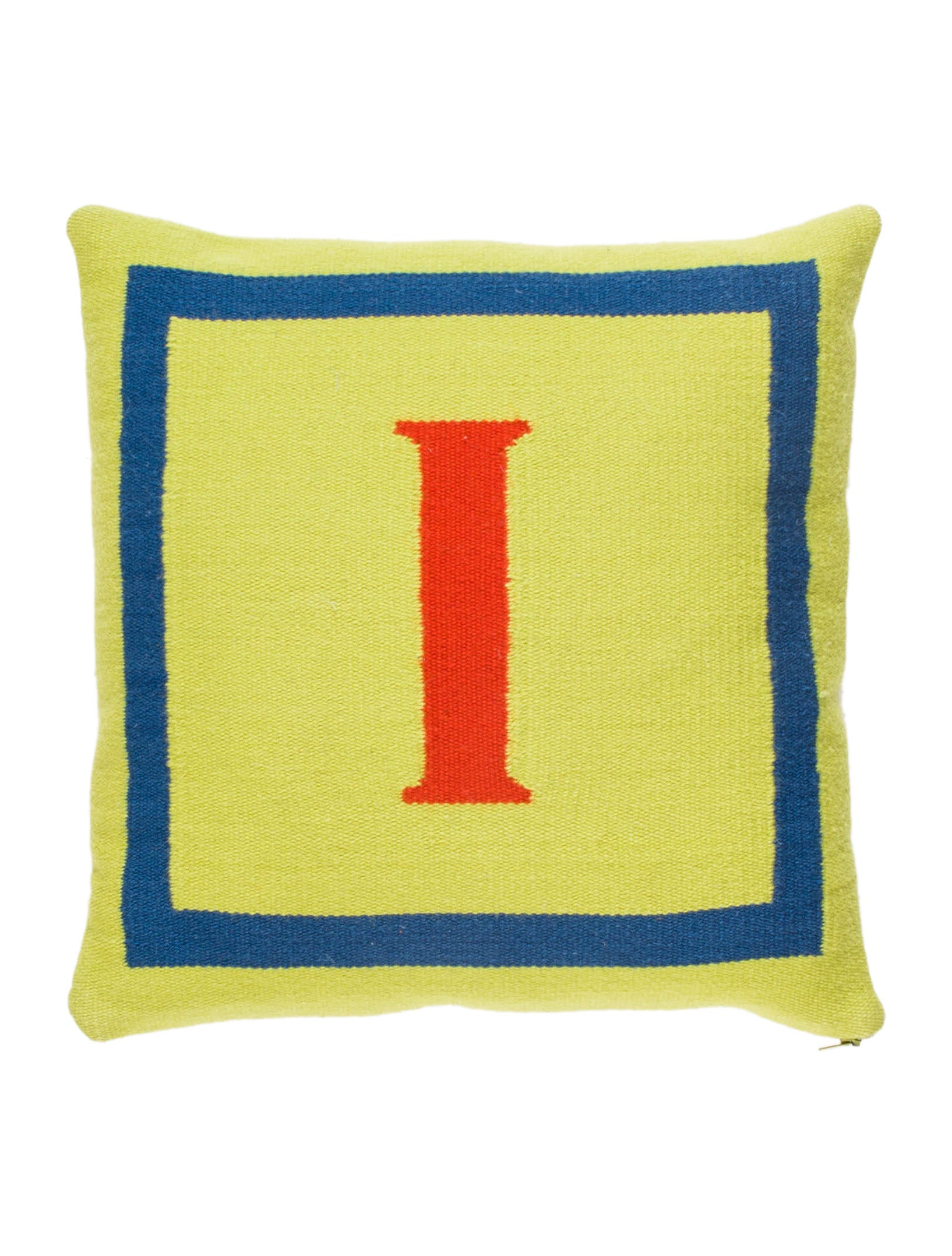 Letter L Throw Pillow : Jonathan Adler Letter Throw Pillow - Bedding And Bath - JTADL20607 The RealReal