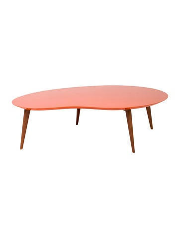 Jonathan adler okura kidney coffee table furniture jtadl20685 the realreal Jonathan adler coffee table