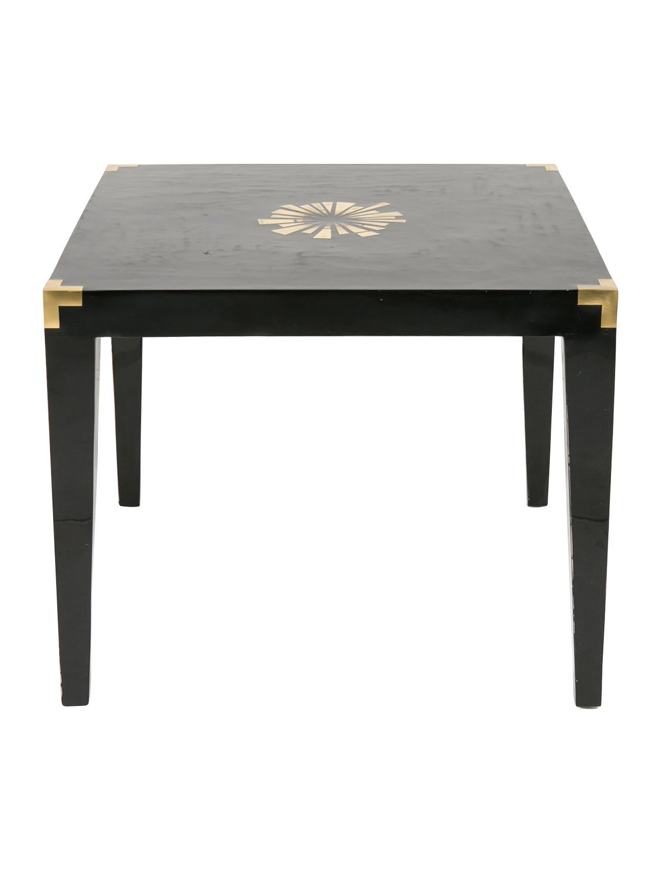 Jonathan adler monaco game table and chairs set for Furniture quiz