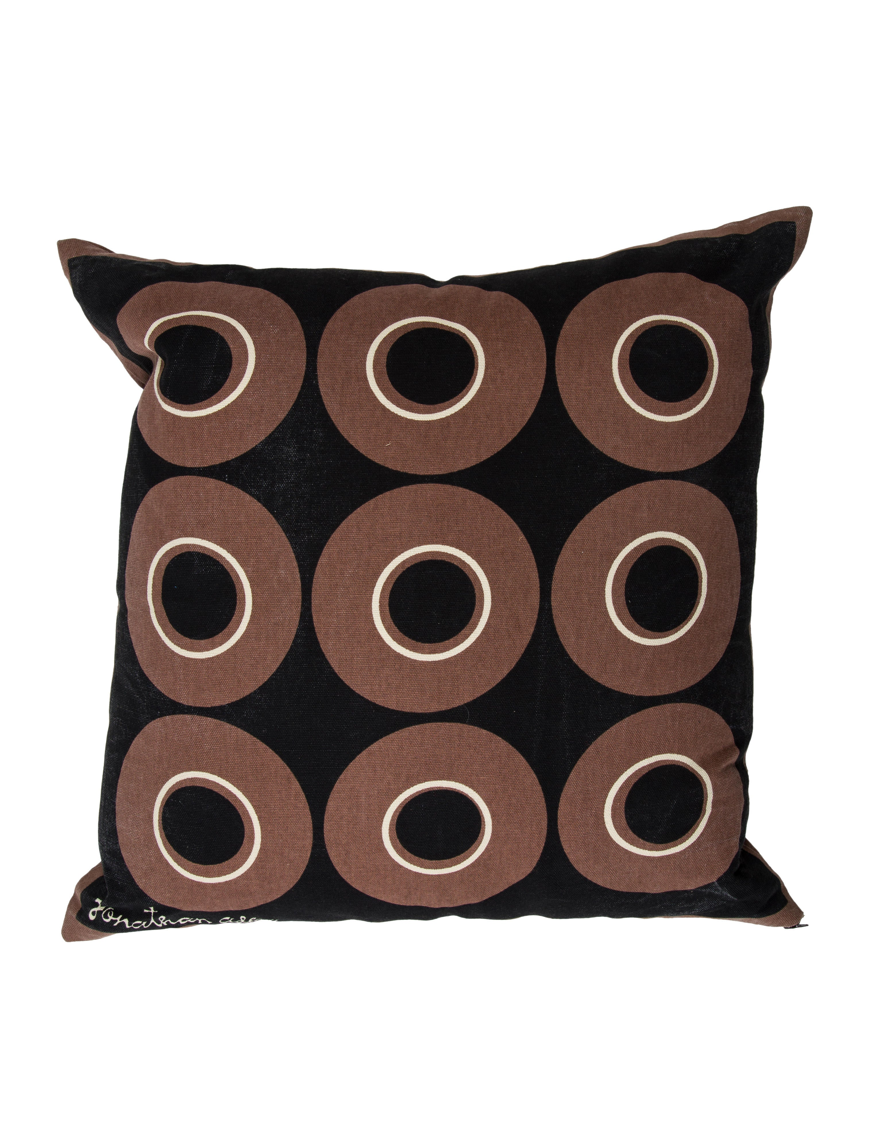 Throw Pillows Justice : Jonathan Adler Geometric Throw Pillow - Bedding And Bath - JTADL20743 The RealReal