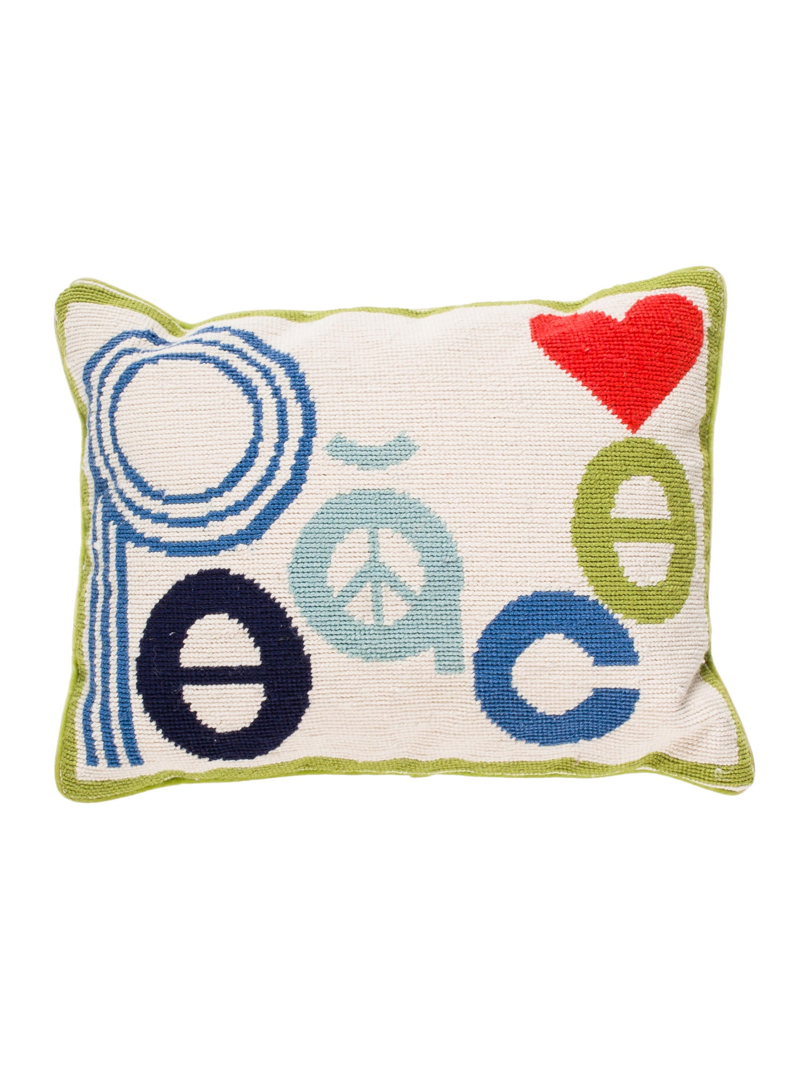 Throw Pillows Justice : Jonathan Adler Peace Mod Throw Pillow - Bedding And Bath - JTADL20746 The RealReal