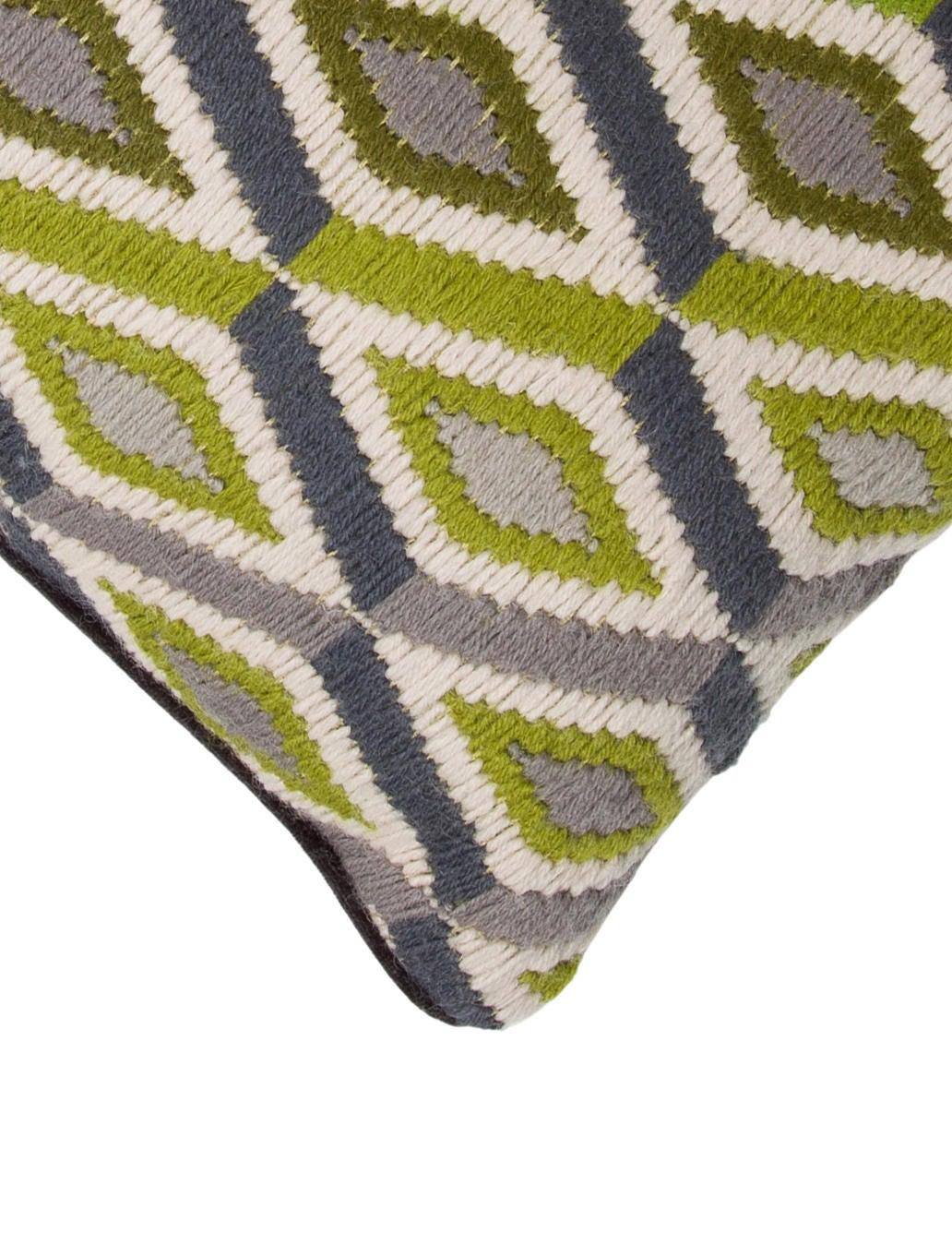 Ikat Design Throw Pillows : Jonathan Adler Ikat Throw Pillow - Bedding And Bath - JTADL20750 The RealReal