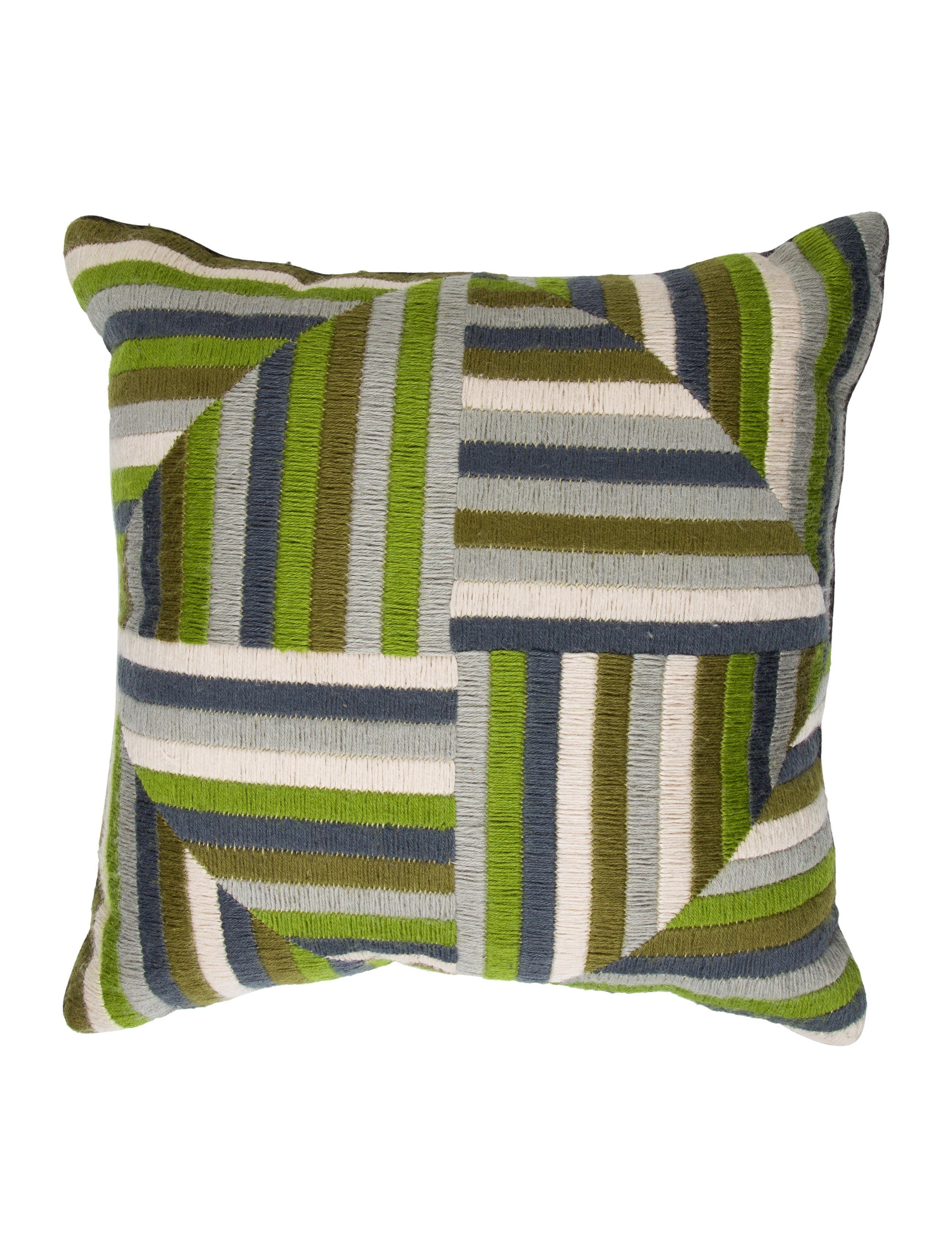 Throw Pillows Justice : Jonathan Adler Geometric Throw Pillow - Bedding And Bath - JTADL20751 The RealReal
