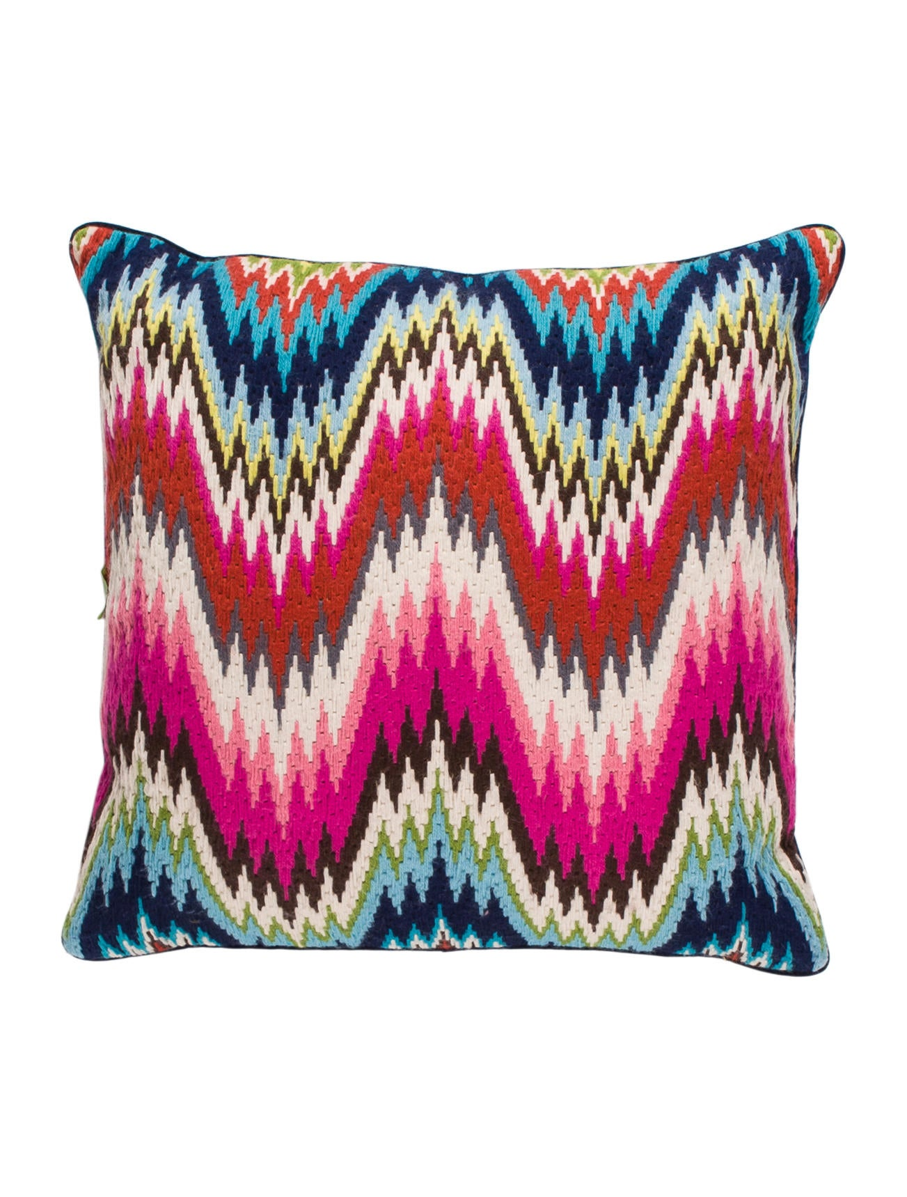 Throw Pillows Justice : Jonathan Adler Needlepoint Throw Pillow - Pillows And Throws - JTADL20861 The RealReal