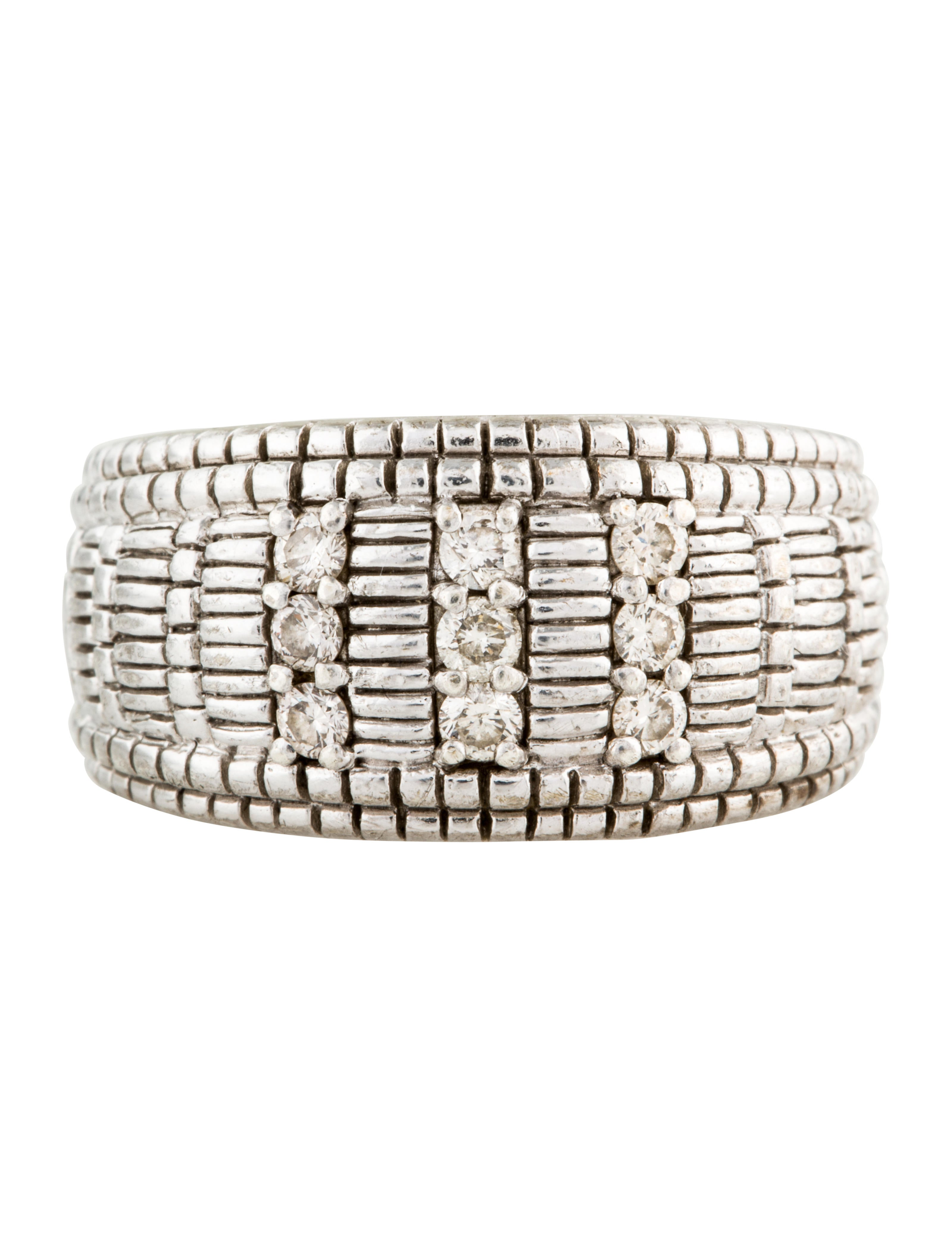 judith leiber linen dome band rings jud26483