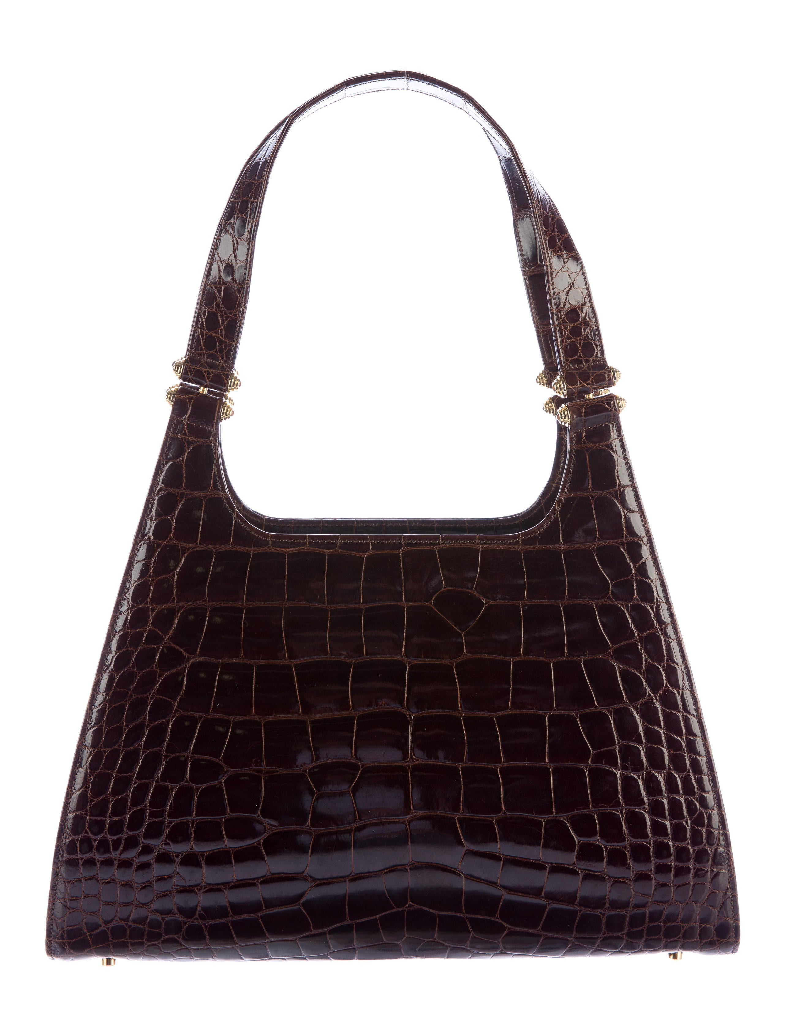 Contemporary Flatware Judith Leiber Alligator Shoulder Bag Handbags Jud26589