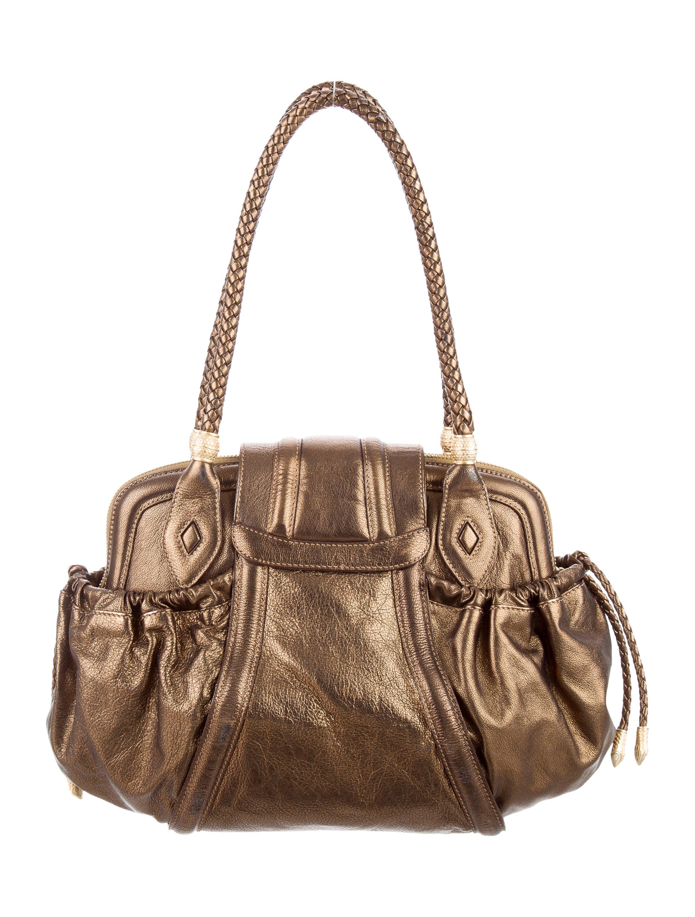 Judith Leiber Metallic Shoulder Bag - Handbags