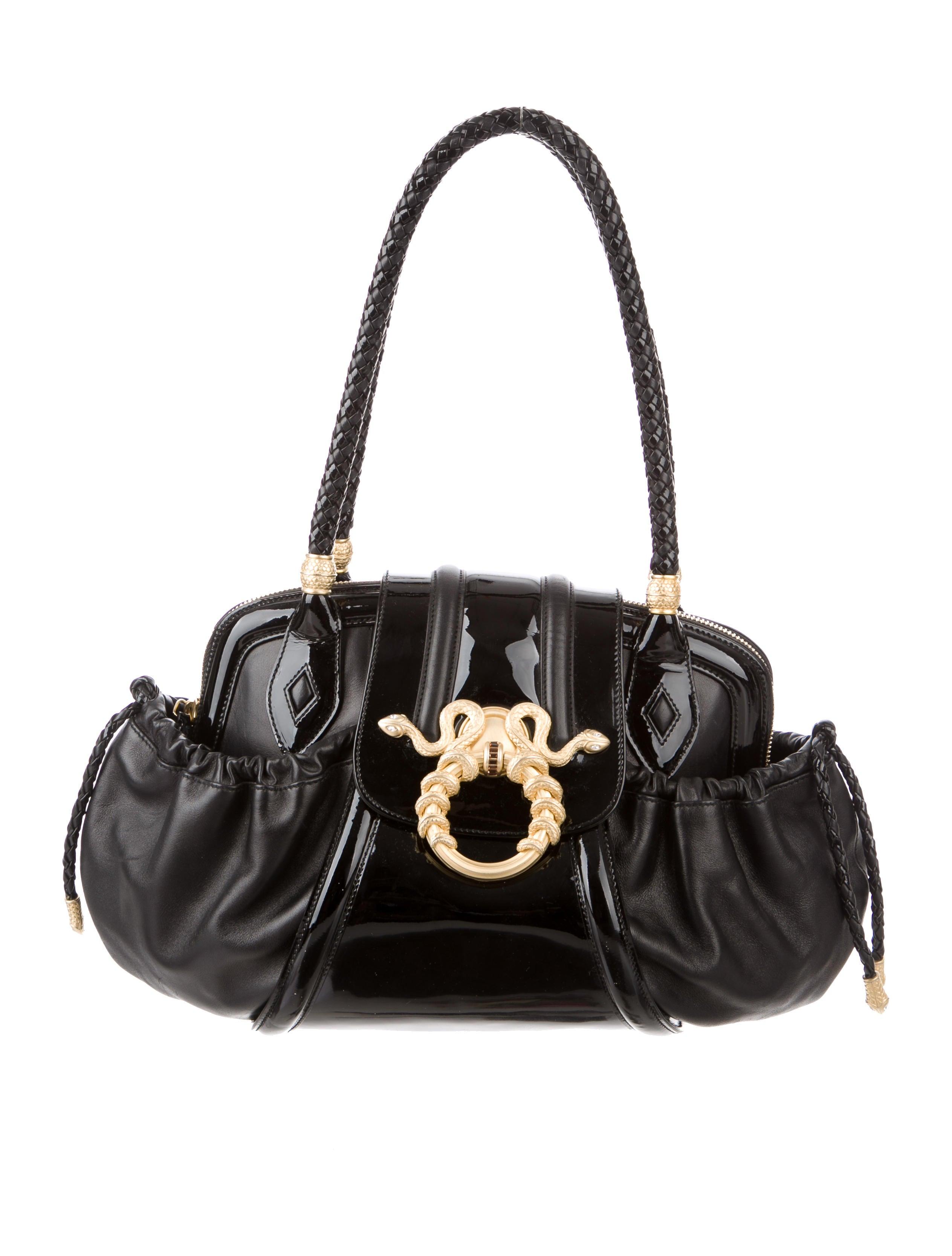 Judith Leiber Medusa Shoulder Bag - Handbags