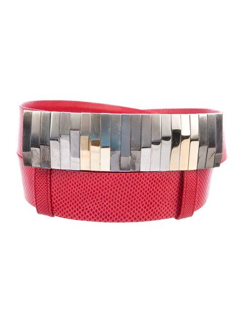 Judith Leiber Karung Waist Belt - image 1