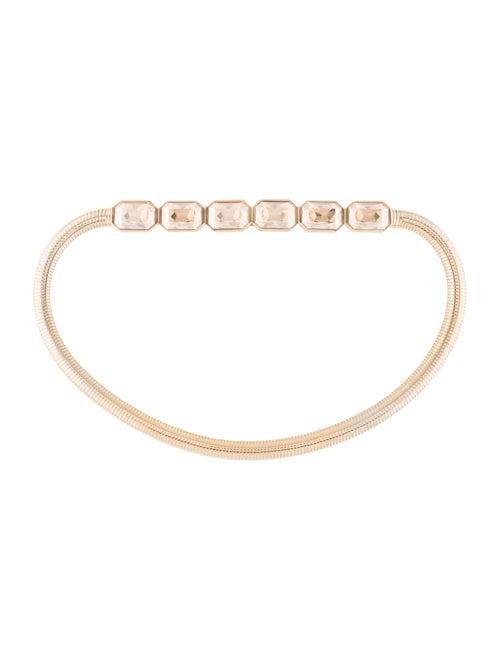 Judith Leiber Chain-Link Belt Gold