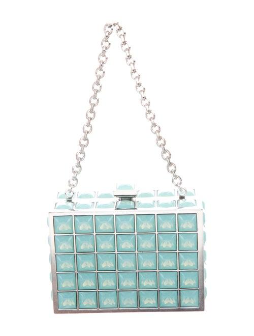 Judith Leiber Jade Mini Box Bag Green