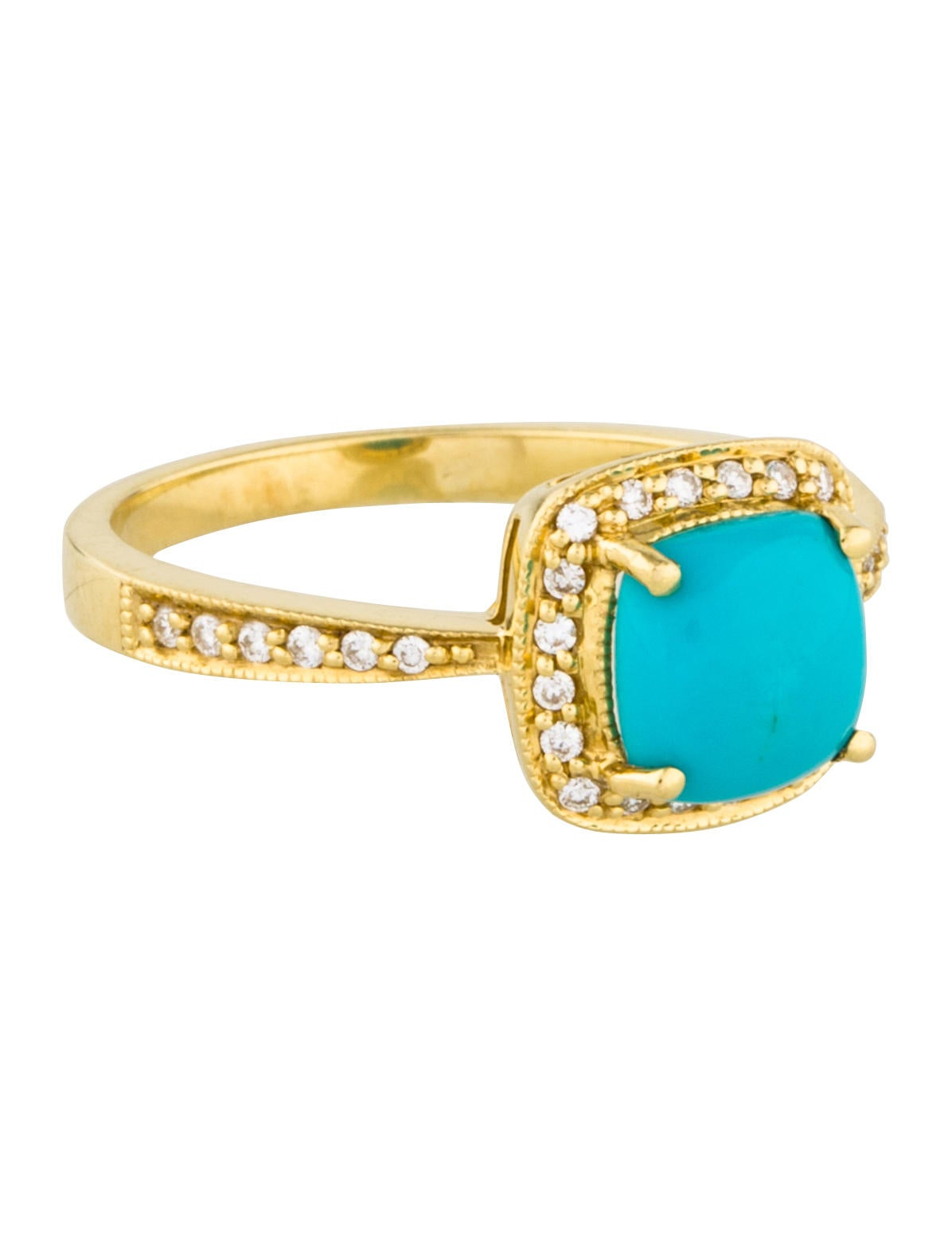jude frances 18k turquoise ring rings