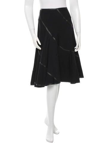 Junya Watanabe Wool Flare Skirt w/ Tags None
