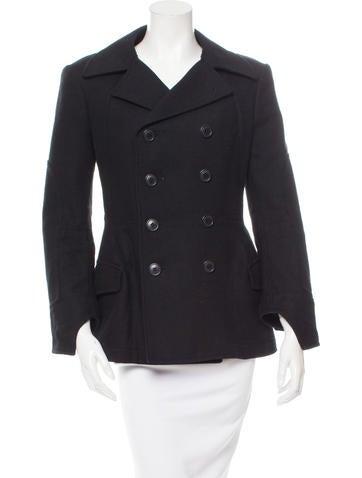 Junya Watanabe Double-Breasted Wool Jacket None