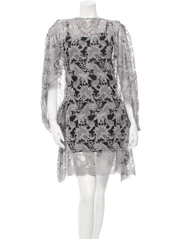 Junya Watanabe Lace Mini Dress None
