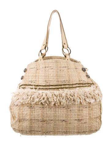 Junya Watanabe Bouclé Shoulder Bag None