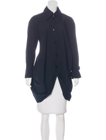 Junya Watanabe Wool Button-Up Coat None