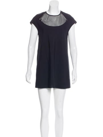 Junya Watanabe Wool-Blend Sleeveless Dress None