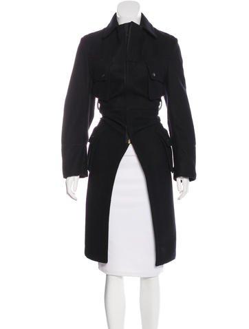 Junya Watanabe Wool Zip Coat None