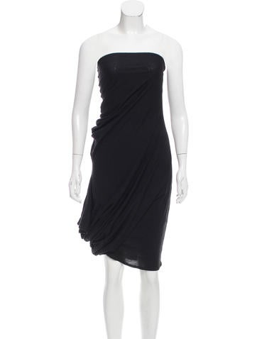 Junya Watanabe Asymmetrical Wool Dress None