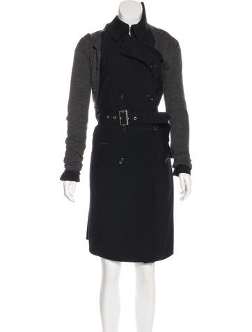 Junya Watanabe Wool Asymmetrical Coat None