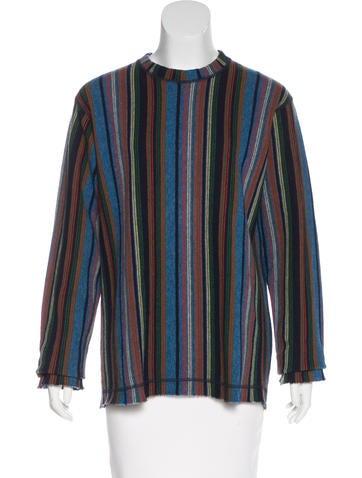 Junya Watanabe Long Sleeve Wool Sweater None