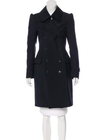 Junya Watanabe Double-Breasted Wool Coat None
