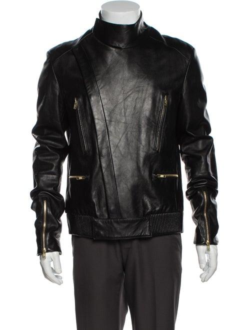 Juun.J Moto Jacket Black