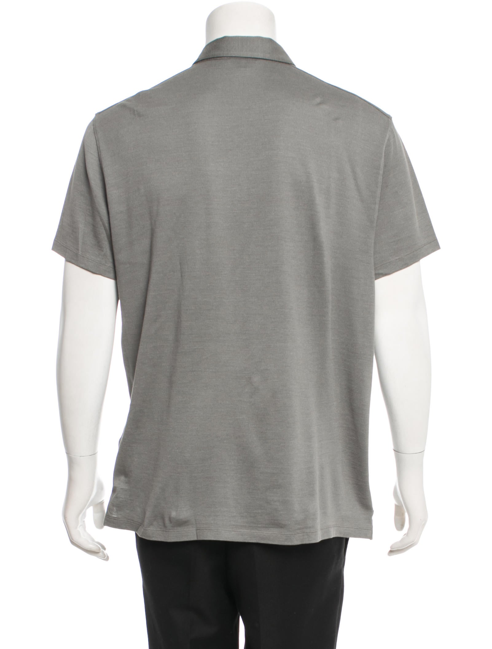 John Varvatos Silk Polo Shirt Clothing Jva21352 The