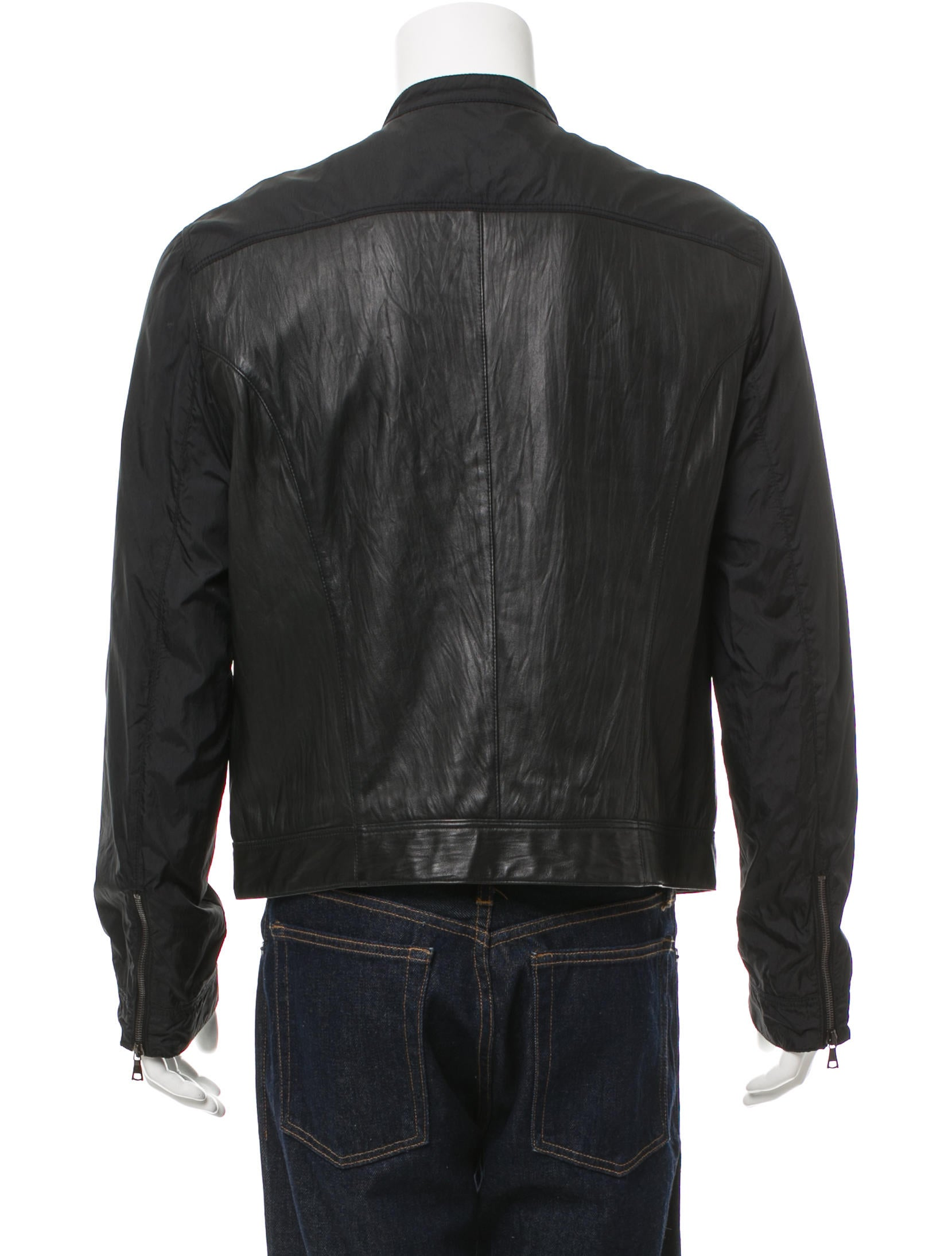 John varvatos leather jacket sale