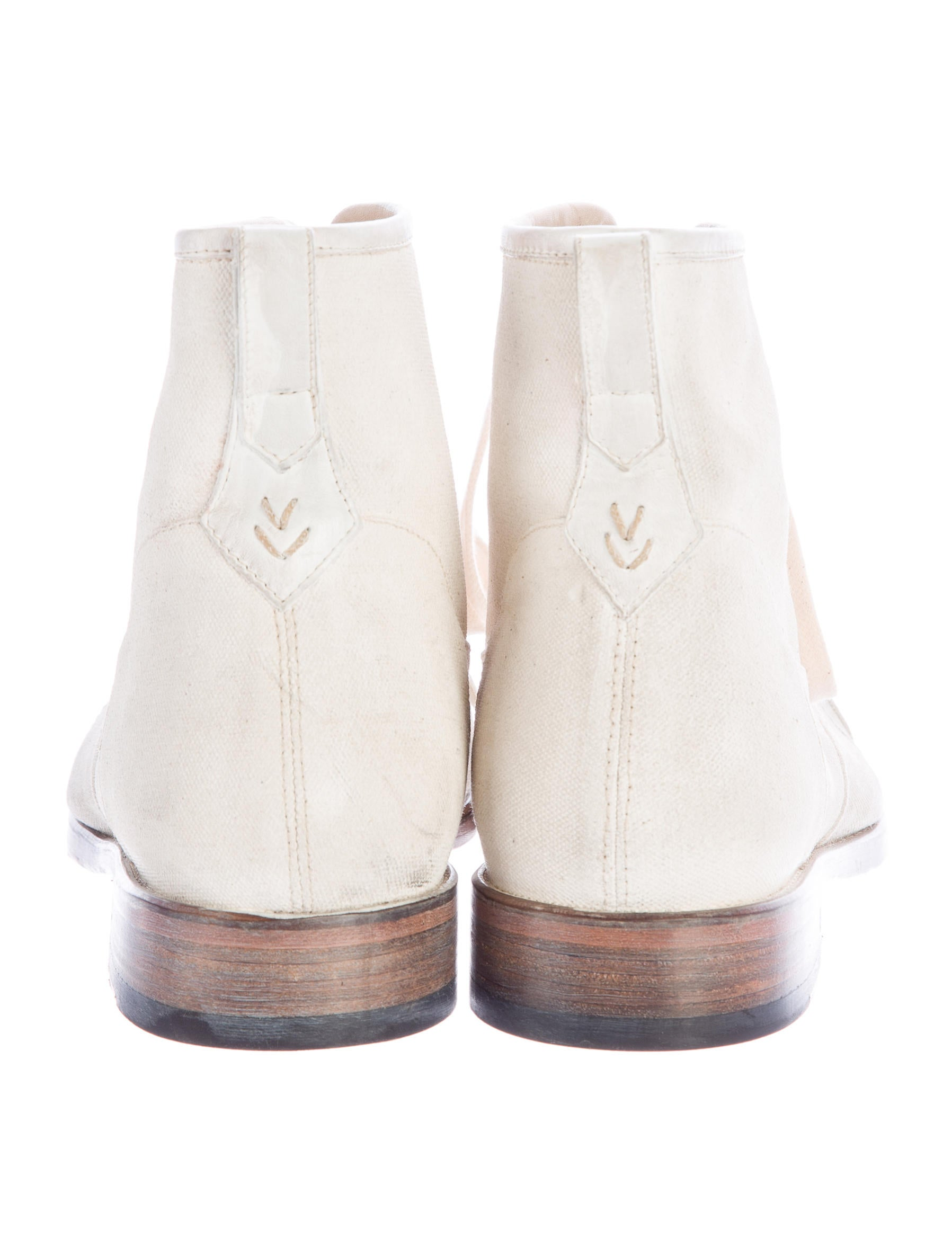 varvatos canvas ankle boots shoes jva22950 the