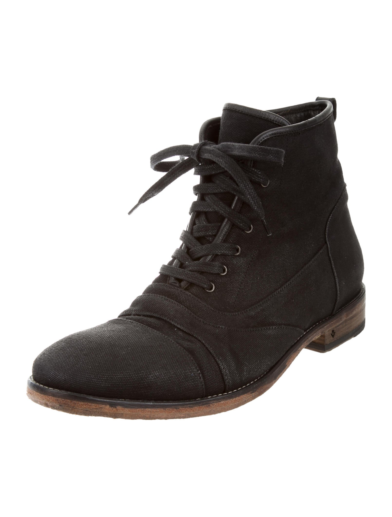 varvatos canvas ankle boots shoes jva23254 the